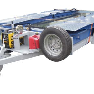 UVIS, a Security Product by Mifram: A mobile system on a trailer for easy transportation and deployment to wherever the unit is needed