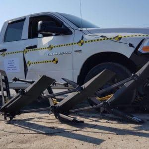 FMB stops pickup truck