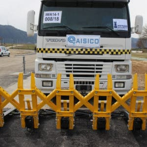SAMSON™-tested and certified physical barrier