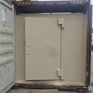 40 FOOT AUTONOMY FORTIFIED CONTAINER Double door – closed